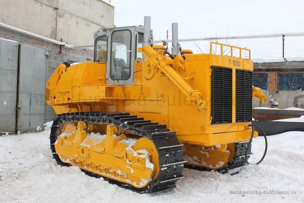 техническая характеристика бульдозер Т-500 трактор Т-500
