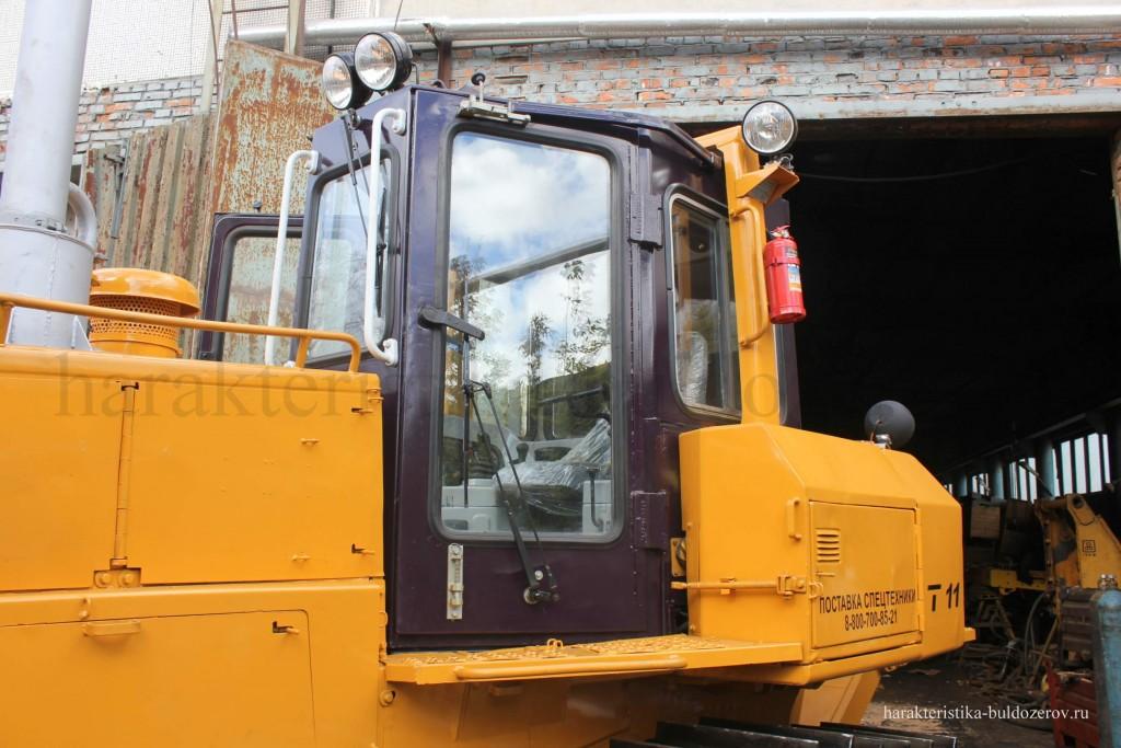 Кабина Т-11.01, Т-1101 Характеристика бульдозер Т-1101, трактор Т-11.01, Т-11.02, ЧЕТРА Т-11