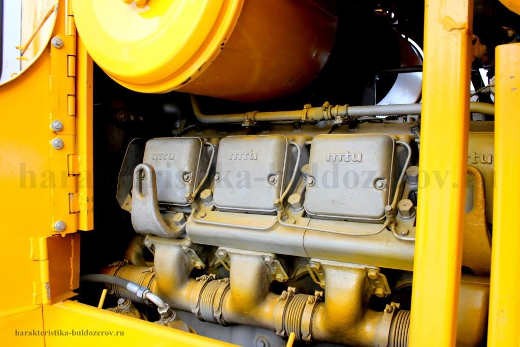 Двигатель MTU характеристика бульдозер Т 500, трактор Т 500