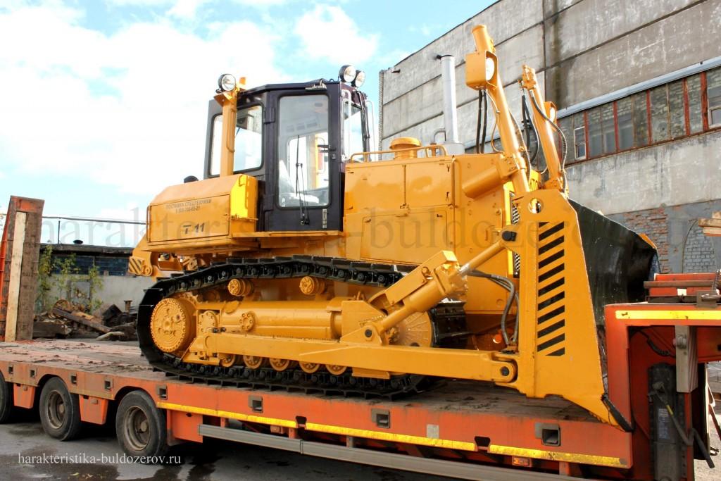 габаритные размеры Т-11.01, Т-1101 Характеристика бульдозер Т-1101, трактор Т-11.01, Т-11.02, ЧЕТРА Т-11