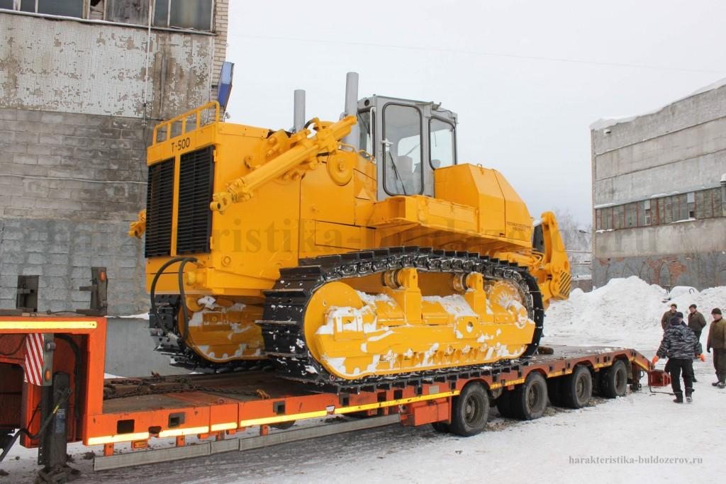габаритные размеры Т 500 характеристика бульдозер Т 500, трактор Т 500