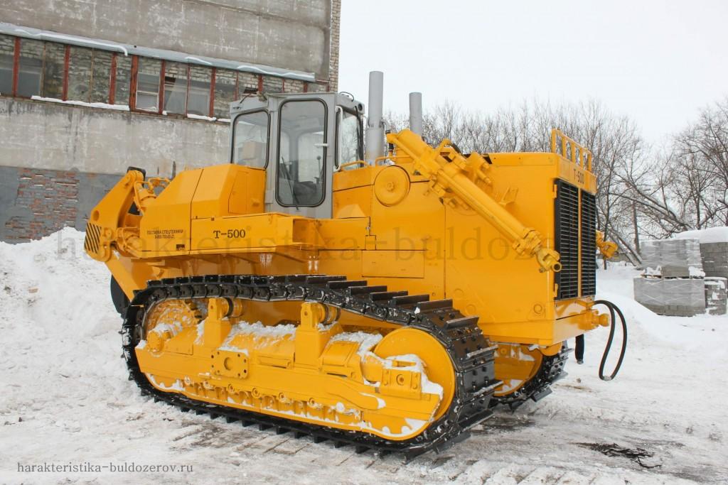 характеристика бульдозер Т-500 трактор Т-500