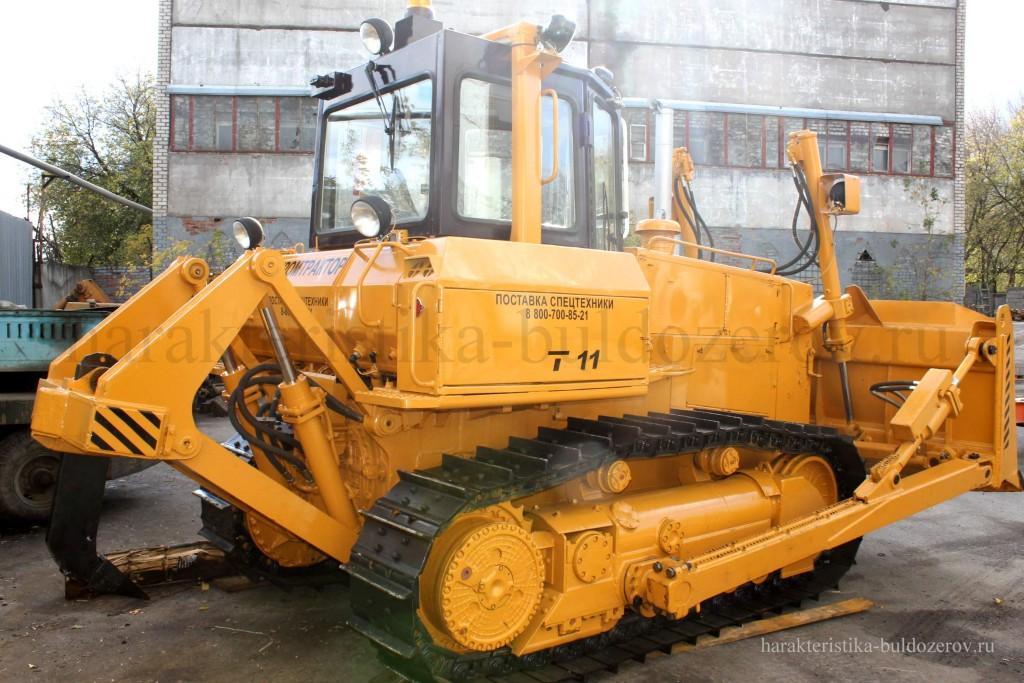 рыхлительное оборудование Т-11.01, Т-1101 Характеристика бульдозер Т-1101, трактор Т-11.01, Т-11.02, ЧЕТРА Т-11