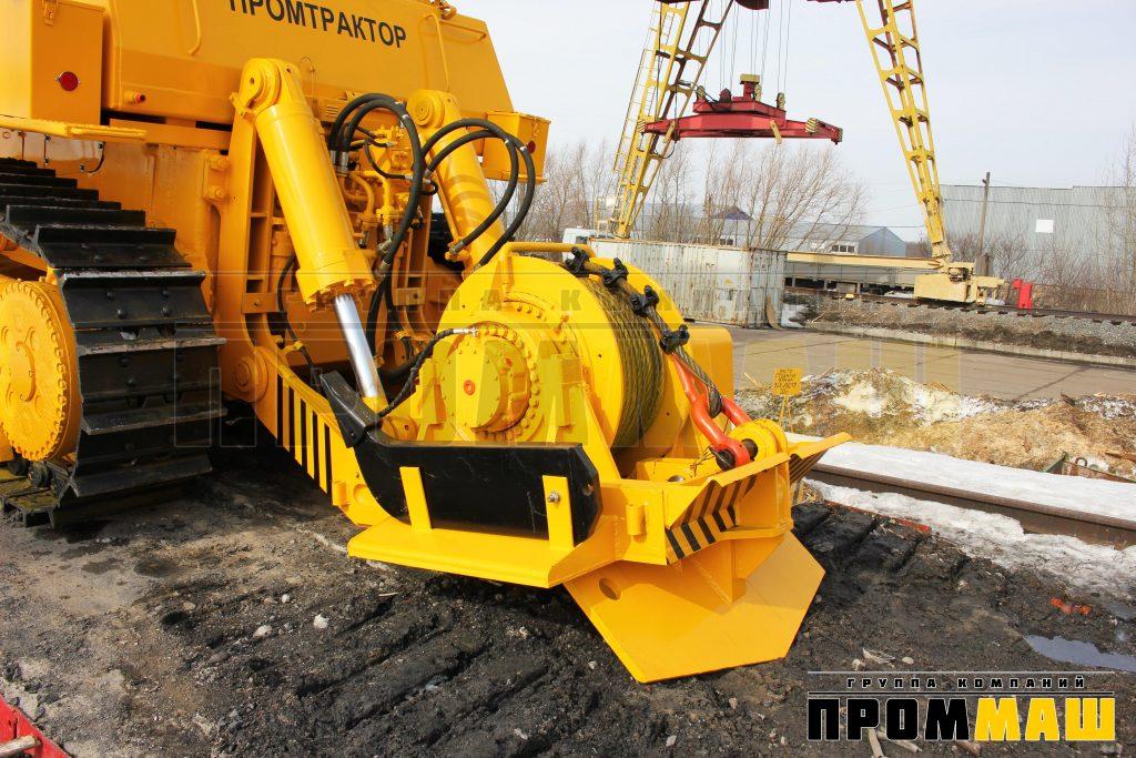 Тяговая лебедка бульдозера ЧЕТРА Т-35.01Л, Т-35.02Л