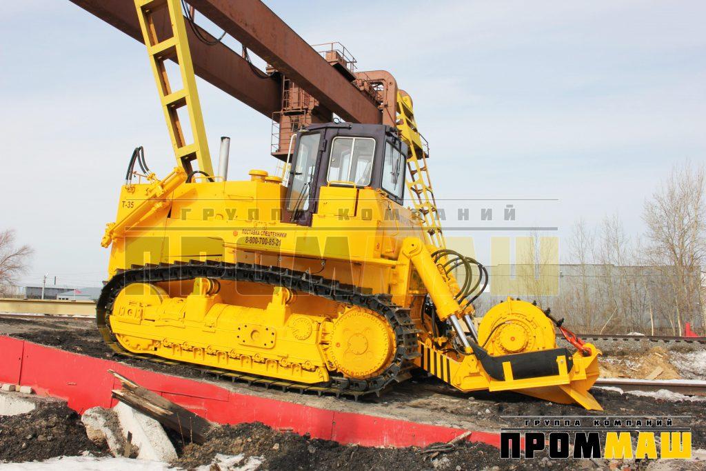 Характеристика бульдозера Т-3501Л, трактора Т-35.01Л, Т-35.02Л, ЧЕТРА Т-35Л